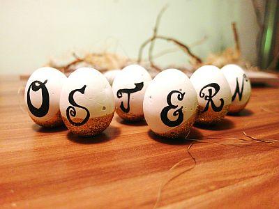 Das Ei - Symbol für neues Leben