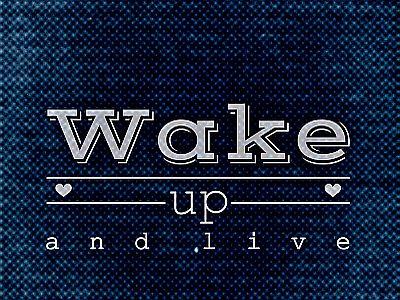 Morgens aufstehen und das Leben genießen!