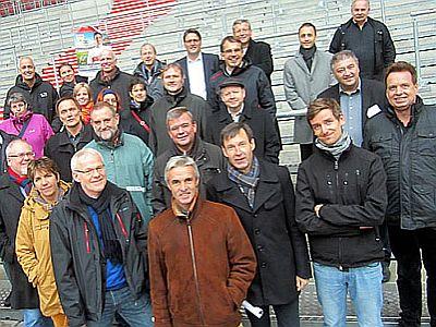 Mitglieder des Arbeitskreises Kirche und Sport.