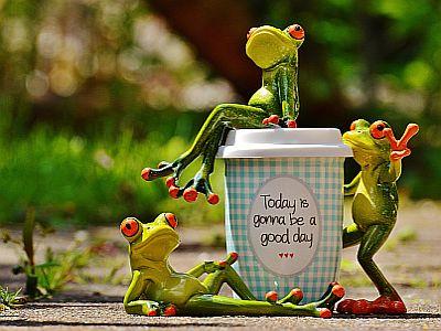 Heute soll ein guter Tag werden!