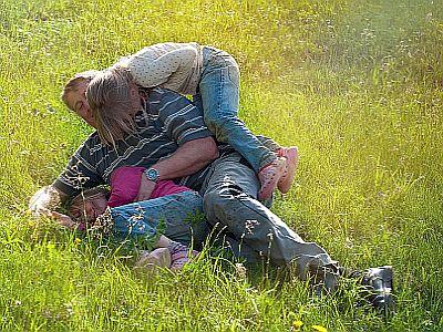 Vater und Tochter - wie werden die beiden sich in zwanzig Jahren verstehen?