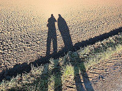 Der Schatten an meiner Seite.