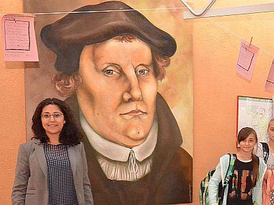 Deutschlands Reformator Martin Luther bewegt bis heute auch Schüler.