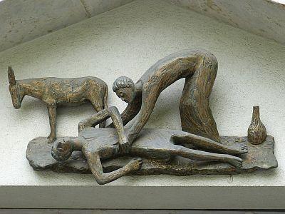 Der Samariter half - ohne Ansehen der Person.
