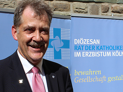Norbert Michaels, Geschäftsführer des Diözesanrats der Katholiken im Erzbistum Köln e.V., Foto: Diözesanrat