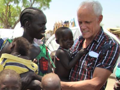 Bild: Bruder Bernhard von den Comboni-Missionaren, Foto: Sternsinger