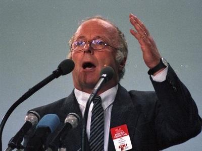 Norbert Bluem beim Bundesparteitag 1988 in Wiesbaden
