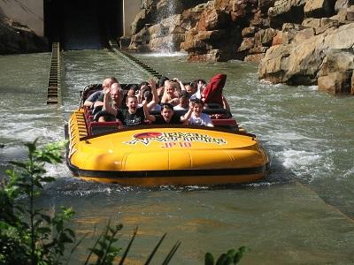 Wildwasserboot