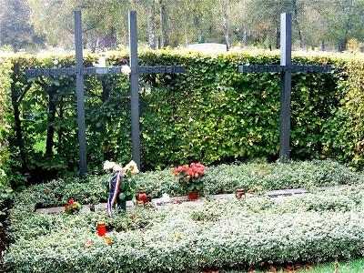 Das Grab von Hans und Sophie Scholl