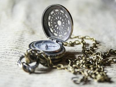 Eine alte Uhr