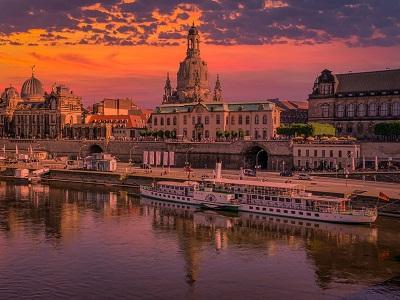 Panoramablick über Dresden
