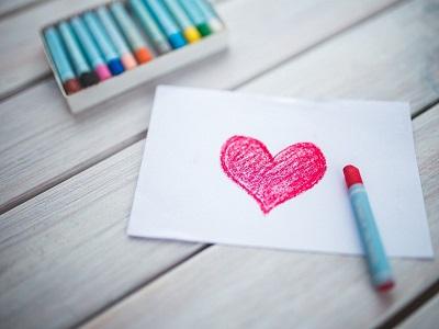 Ein Bild mit einem Herz