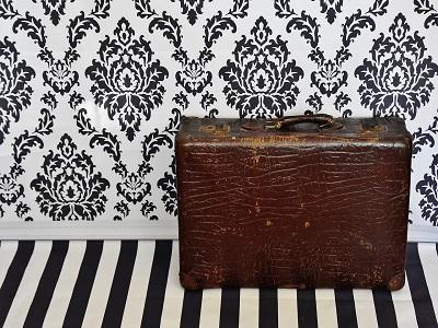 Ein alter Koffer