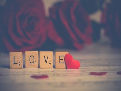 Schriftzug - Liebe
