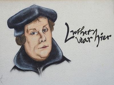 Luther Graffiti