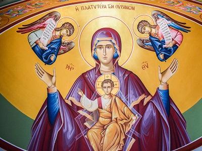 Bild von Maria und Jesus